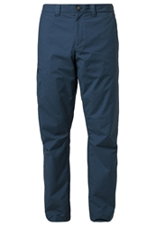 Jack Wolfskin Rainfall Trousers Dark Teal Dark Green