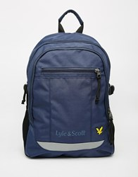 Lyle And Scott Tactical Backpack Blue