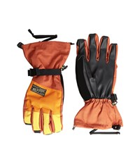 Burton Approach Glove Picante Maui Sunset Syrup Snowboard Gloves Orange