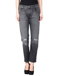Truenyc. Denim Pants Steel Grey