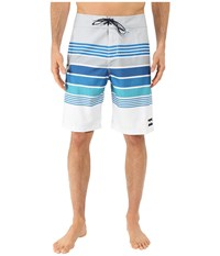 Billabong All Day Stripe 21 Boardshorts Silver Men's Swimwear