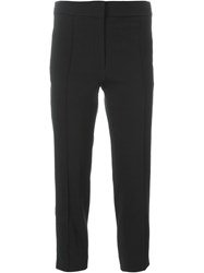 Iro Cropped Trousers Black