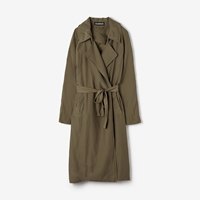 Alasdair Summer Trench Flax