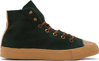 Kolor Green Suede High Top Sneakers