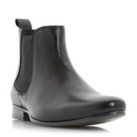Linea Mallards Almond Toe Chelsea Boots Black