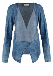 Noisy May Nmelin Blazer Medium Blue Denim