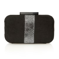 Lotus Jasminium Clutch Bags Pewter