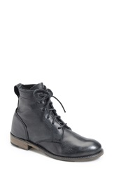 Vintage Shoe Company 'Lilly' Boot Black Leather