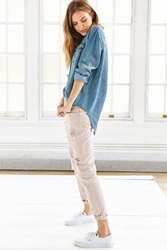 Bdg Slim Fit Destroyed Boyfriend Jean Light Brown