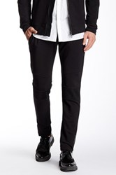 Antony Morato Mesh Panel Fleece Pant Black