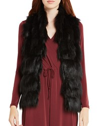 Bcbgeneration Faux Fur Vest Black