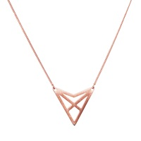 Dutch Basics Hef Fine Chain Necklace Rose Gold
