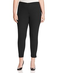 Marina Rinaldi Rimmel Zip Detail Pants Black