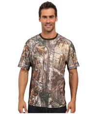 Columbia Stealth Shot Iii Zero Short Sleeve Shirt Realtree Xtra Cordovan Men's Short Sleeve Pullover Brown