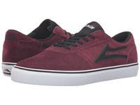 Lakai Manchester Select Port Suede Men's Skate Shoes Burgundy