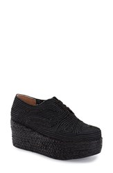 Women's Robert Clergerie 'Pinto' Woven Platform Oxford