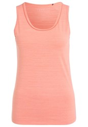 Esprit Sports Vest Coral Orange Melange