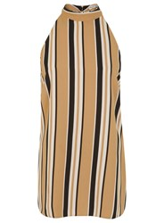 Miss Selfridge Variated Stripe Tunic Multi Coloured