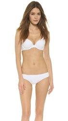Calvin Klein Underwear Perfectly Fit Memory Touch T Shirt Bra White