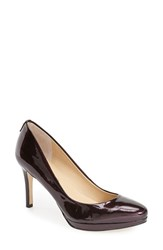 Women's Ivanka Trump 'Sophia' Pump Dark Purple Patent