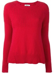 Dondup 'Berkeley' Jumper Red