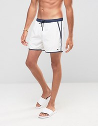 Boss By Hugo Shellfish Swim Shorts White