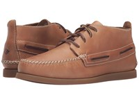 Sperry A O Wedge Chukka Leather Sahara Men's Lace Up Casual Shoes Orange