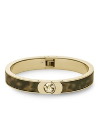 Skinny Fulton Bangle Tortoise Michael Kors Green