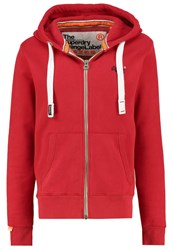 Superdry Tracksuit Top Regal Red