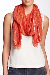 Collection Xiix Wild West Infinity Scarf Orange