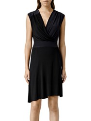 Allsaints Zuri Dress Black Ink