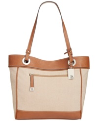 Style And Co. Brightspot Tote Natural Linen Luggage