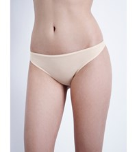 Hanro Ultralight Cotton Thong Skin