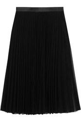 Junya Watanabe Pleated Tulle Skirt Black