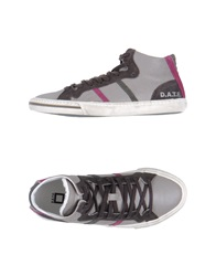 D.A.T.E. High Top Sneakers