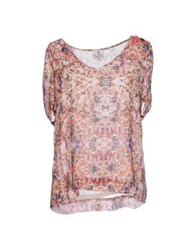 Only 4 Stylish Girls By Patrizia Pepe Blouses Pink