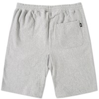 Stussy Stock Fleece Short Grey