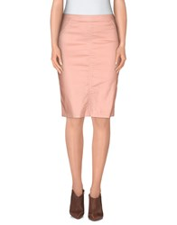 Met And Friends Skirts Knee Length Skirts Women Pink