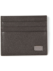 Dolce And Gabbana Classic Cardholder Grey