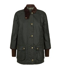 Barbour Bedale Wax Jacket Female Green