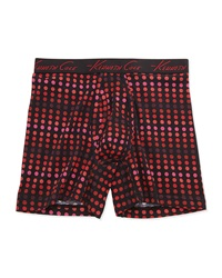 Kenneth Cole Polka Dot Stretch Jersey Boxer Briefs Red