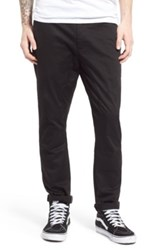 Globe 'Dover' Slouchy Slim Fit Pants Black