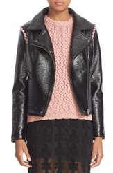 Shrimps Women's 'Rose' Faux Leather Jacket