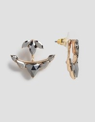 Aldo Mcclouchan Through And Through Earrings Gold