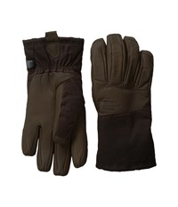 The North Face Men's Denali Se Leather Glove Brownie Brown Extreme Cold Weather Gloves