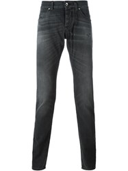 Dolce And Gabbana Tapered Jeans Grey