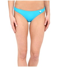 Body Glove Smoothies Basic Bikini Bottom Ocean Women's Swimwear Blue