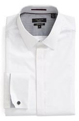 Ted Baker Men's London 'Gosling' Trim Fit Stretch Tuxedo Shirt