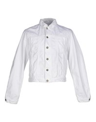 Pierre Balmain Denim Denim Outerwear Men White