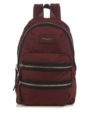 Marc Jacobs Utility Nylon Backpack Burgundy